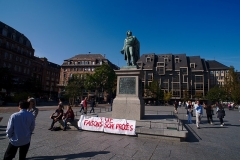 Monument du général Kléber - English:  The Statue of Jean-Baptiste Kléber on Place Kléber in Strasbourg.