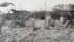 Cimetière juif - Deutsch:  Sicht des jüdischen Friedhofs von Séléstat in den 1950er Jahren. Bild aus der Sammlung des Jüdischen Museums der Schweiz