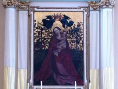Eglise catholique Saints-Pierre-et-Paul -  Alsace, Haut-Rhin, Église Saints-Pierre-et-Paul (XIIIe-XIXe) d'Eguisheim (PA00085415,  IA68000505). Tableau de l'autel secondaire