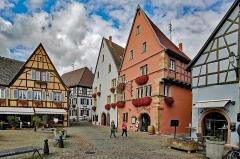 Maison - English:  Eguisheim (Wintzenheim, Haut-Rhin, France)