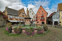 Maison - English:  Eguisheim (Wintzenheim, Haut-Rhin, France)