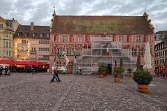 Ancien hôtel de ville, actuellement Musée historique - English:  Mulhouse (Grand Est, France)