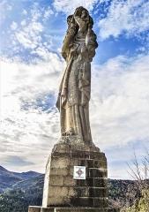 Statue monumentale de la Vierge à l'Enfant dite Vierge d'Alsace ou à l'Offrande - Français:   Vierge d\'Alsace (vierge à l\'Enfant ou Vierge à l\'Offrande) statue monumentale