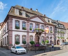 Hôtel de ville - English:   Town hall of Ribeauvillé, Haut-Rhin, France
