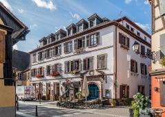 Maison - English:   Building at 7 Grand\'Rue in Ribeauvillé, Haut-Rhin, France
