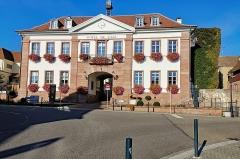 Hôtel de ville - English:  Riquewiehr (Sainte-Marie-aux-Mines, Haut-Rhin, France)