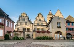 Ancien hôtel de ville - English:   Former town hall of Rouffach, Haut-Rhin, France