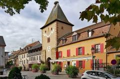 Porte de France dite Porte de Colmar ou Niedertor - English:  Turckheim (Grand-Est, France)