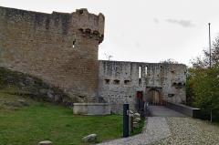 Château de Hohlandsberg ou Hohlandsbourg - English:  Castle Haut-Landsbourg near Wintzenheim (Grand-Est, France)