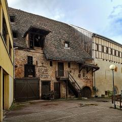 Ancien grenier médiéval - English:   Colmar (Haut-Rhin, France)