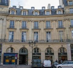Ancien hôtel Bauyn de Péreuse - Deutsch:  Hôtel Bauyn de Péreuse in Paris, Nr. 5 Place des Victoires