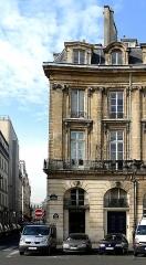 Ancien hôtel de Montplanque - English:  Hôtel de Montplanque, 1 bis place des Victoires, Paris, France.