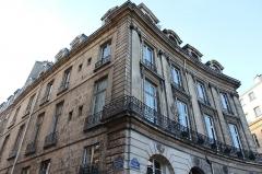 Ancien hôtel de Montplanque -   Vivienne | Place des Victoires  Classicism.
