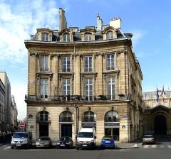 Ancien hôtel de Montplanque - English:  Victoires place (hôtel Charlemagne) - Paris