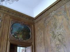Ancien hôtel de Toulouse - English:   The galerie dorée of the Hôtel de Toulouse, headquarter of the Banque de France in Paris