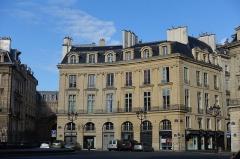 Place des Victoires : le sol -  Place des Victoires @ Paris