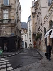 Place des Victoires : le sol -  Place des Victoires (Paris)