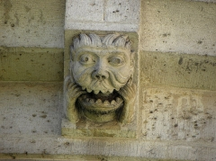 Ancienne abbaye Saint-Martin-des-Champs, actuellement Conservatoire National des Arts et Métiers et Musée National des Techniques - Français:   Chevet de l\'église prieurale de Saint-Martin-des-Champs à Paris (75003). Détail.