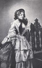 Théâtre Dejazet - Deutsch:   Foto der Schauspielerin Pauline Virginie Déjazet