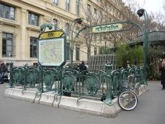 Métropolitain, station Cité - Deutsch:  Eine Station der de:Metro Paris in Paris, Frankreich.