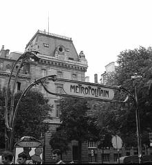 Métropolitain, station Cité -  Metro
