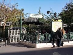 Métropolitain, station Cité -  Paris 9