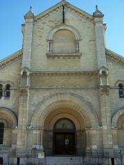 Eglise Notre-Dame-du-Travail - English:  Portico église Notre-Dame-du-Travail (Paris)