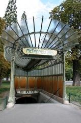 Métropolitain, station Dauphine -  Station de metro porte Dauphine