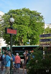 Métropolitain, station Porte-d'Auteuil -  Auteuil