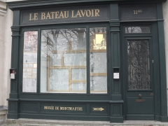 Le Bateau Lavoir - Français:   La façade de la cité des artistes \