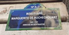 Métropolitain, station Barbès-Rochechouart - Français:   Boulevard Marguerite de Rochechouart 18e