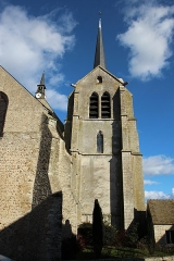 Eglise Saint-Pierre Saint-Paul - English:  Saint-Pierre-Saint-Paul church of Ablis, France