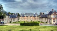Ancien château de Grignon, actuelle école nationale d'agriculture de Grignon - English:   Ecole de Grignon