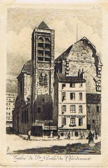 Eglise Saint-Nicolas-du-Chardonnet - French printmaker, drawer and painter