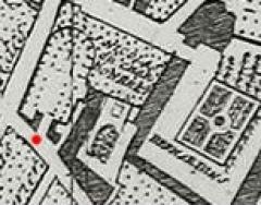 Eglise Saint-Nicolas-du-Chardonnet - English:  Plan de Delagrive, section, Eglise Saint-Nicolas-du-Chardonnet