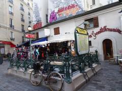 Métropolitain, station Saint-Michel -  Paris