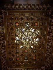 Sorbonne (La) -  Salon Richelieu de l'Université de La Sorbonne, Paris (75005).