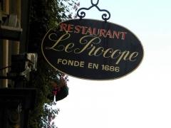 Café Le Procope - English:   Restaurant Le Procope, Paris, France