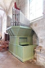 Eglise Saint-Ronan - Français:   Orgue de l\'Église Saint-Ronan à Locronan (Finistère, France).