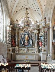 Eglise Saint-Ronan - Français:   Autel de l\'Église Saint-Ronan à Locronan (Finistère, France).