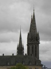 Ancienne cathédrale Saint-Paul-Aurélien - Français:   Vue septentrionale du clocher du Kreisker de des clochers de la cathédrale Saint-Paul-Aurélien de Saint-Paul de Léon (29).