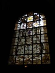 Basilique Saint-Sauveur - Français:   Basilique Saint-Sauveur de Rennes - Vitrail