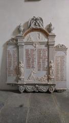 Eglise Saint-Cyr et Sainte-Julitte -  Monument-aux-Morts, église SaintCyr-Sainte-Julitte, Fr-56 Ambon