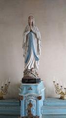 Eglise Saint-Cyr et Sainte-Julitte -  Notre-Dame-de-Lourdes, église Saint-Cyr-Sainte-Julitte, Fr-56 Ambon