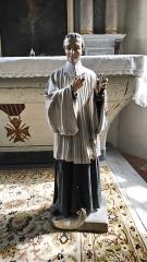 Eglise Saint-Cyr et Sainte-Julitte -  Statue, église Saint-Cyr-Sainte-Julitte, Fr-56 Ambon