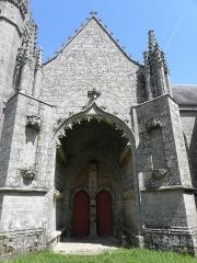 Chapelle Saint-Fiacre -  Porche sud de la chapelle saint-Fiacre du Faouët (56).