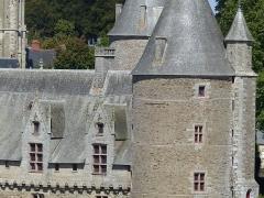 Château - Français:   Château de Josselin vu depuis la butte Saint-Laurent