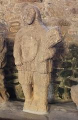 Eglise Saint-Théleau -  Église Saint-Théleau (Landaul): Statue de Saint-Barbe