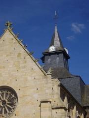 Eglise Saint-Gilles -  Église Saint-Gilles de Malestroit (Morbihan, France), clocher