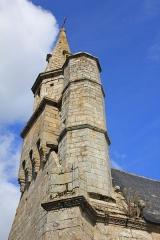 Chapelle Notre-Dame-de-Légevin -  Chapelle Notre-Dame-de-Légevin, escalier menant au clocher